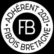 Logo Adh Fiboisbretagne 2021 N&b